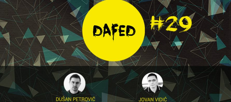 Prvi ovogodišnji DaFED#29