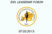 Otvoren konkurs za učešće na ESFL forumu Srbije