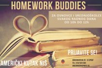 "Program ""Homework Buddies"" u Američkom kutku u Nišu"