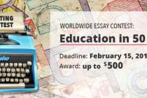 Takmičenje u pisanju eseja: Obrazovanje za 50 godina