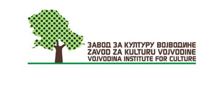 Konkurs za godišnje nagrade Zavoda za kulturu Vojvodine