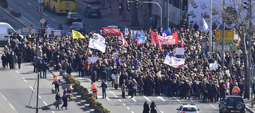 Štrajk prosvetara ulazi u peti mesec