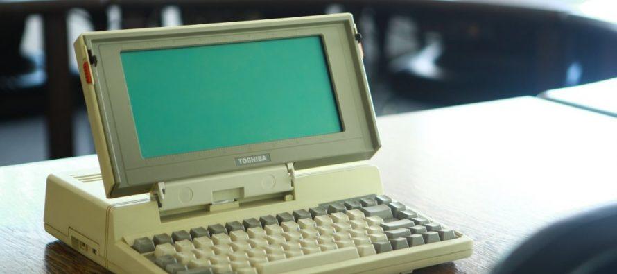 Tošiba lansirala prvi laptop za masovno tržište – pre 30 godina