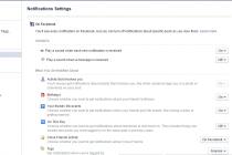 Isključite nepotrebne opcije na Facebook-u
