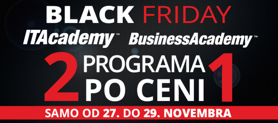 Black Friday na ITAcademy i BusinessAcademy!