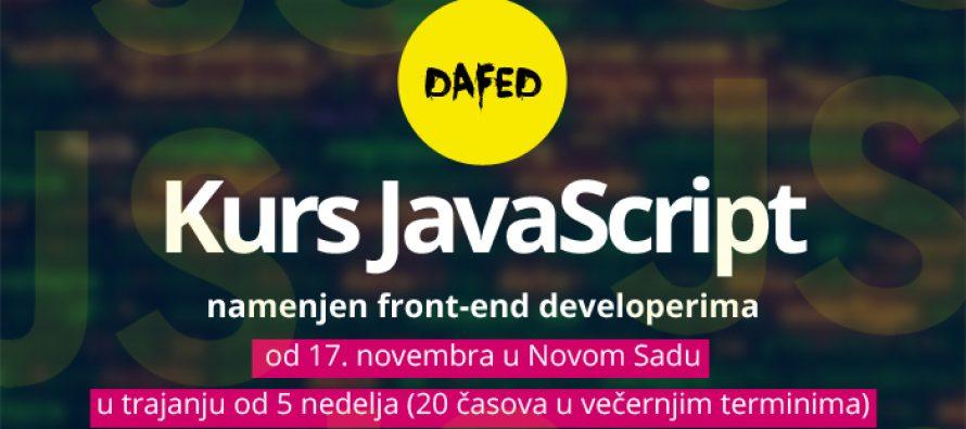 DaFED pokreće kurs za front-end developere