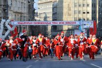 Humanitarna trka Deda Mrazeva u Beogradu
