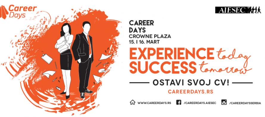 """""""Career Days 2016"""" – Pronađi savršenu karijeru za sebe!"""
