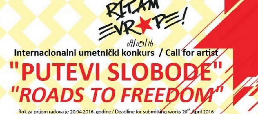 """Umetnički konkurs za plakat na temu """"Putevi slobode"""""""