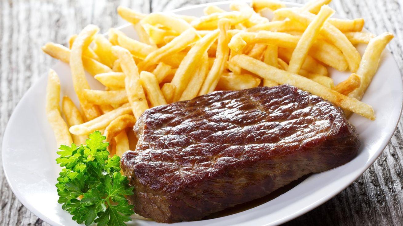 biftek sa pomfritom