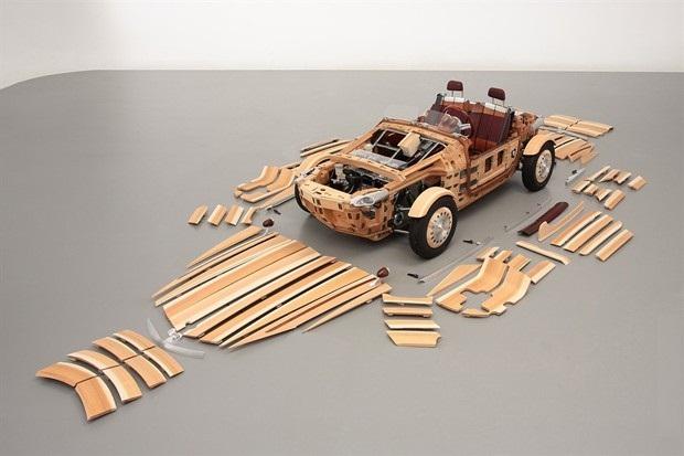 drveni auto 1