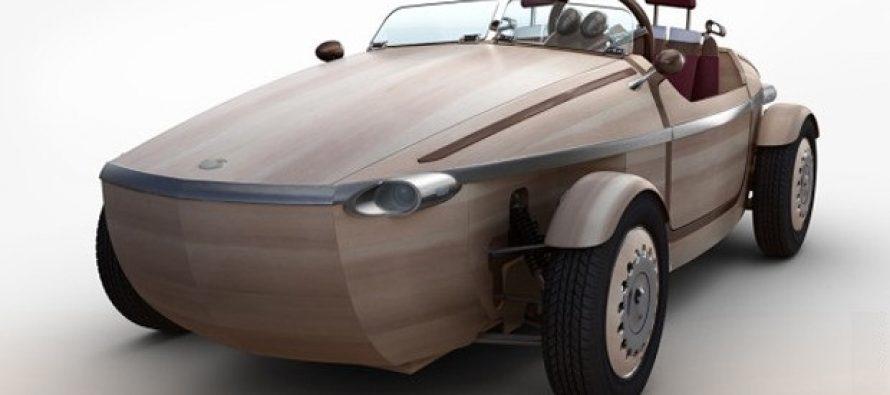 Drveni automobil kompanije Tojota