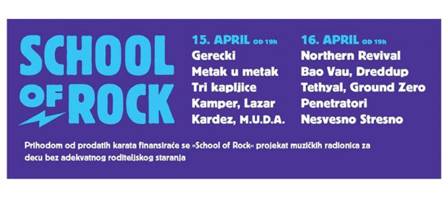 """Novi Sad: Humanitarna akcija """"Mala škola Rock and Rolla"""""""