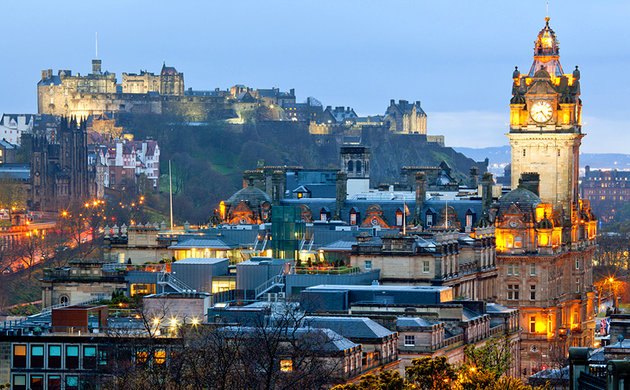 Edinburški zamak