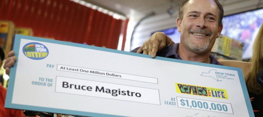 Srećnik: Dva puta osvojio milion dolara na lutriji!