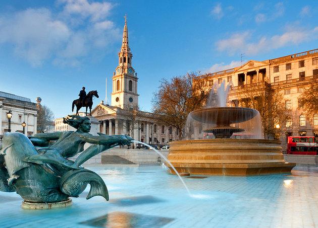 Pikadili Sirkus i Trafalgar trg