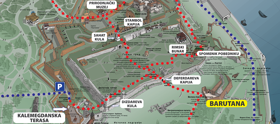 Barutana-mapa