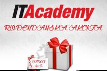 ITAcademy za svoj rođendan poklanja 40% popusta