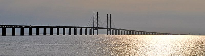 Najveći most da svetu koji spaja Dansku i Švedsku