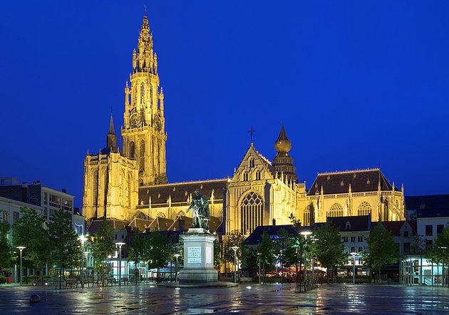 Bogorodičina Katedrala antverpen