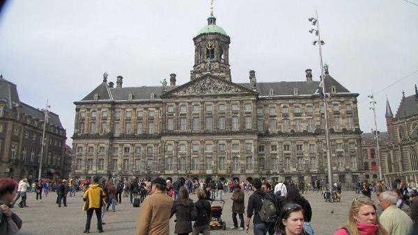 Kraljevska palata - Dam trg