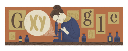 Ovako je Google obeležio 155 godina od rođenja Neti Stivens