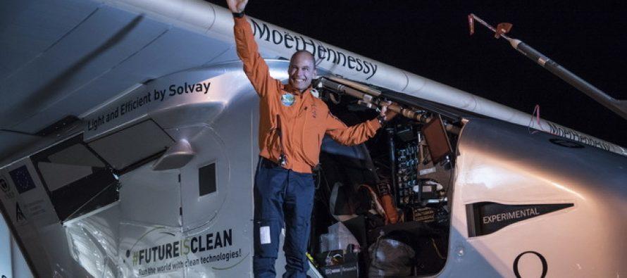 Avion na solarni pogon – završio put oko sveta!