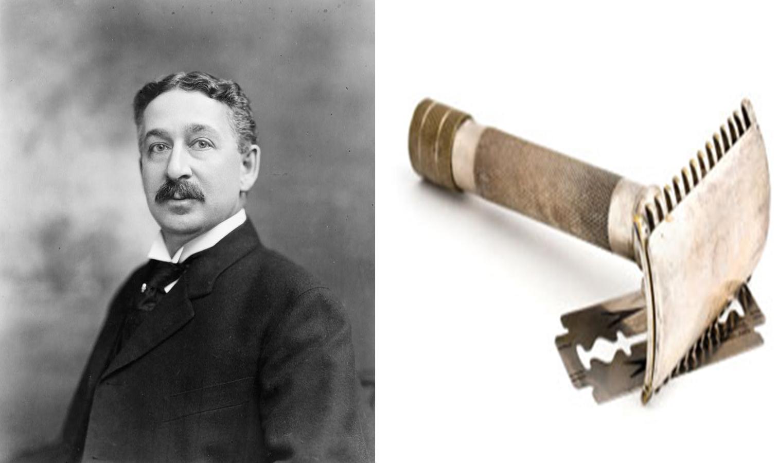 King Kemp Džilet, izumitelj nožića za brijanje