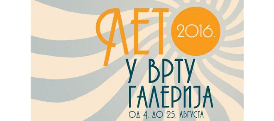 """Novi Sad: """"Leto u vrtu galerija"""" od 4. avgusta"""
