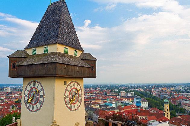 Pogled na Grac sa Šlosberga