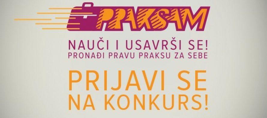 """Otvorene prijave za """"Praksam II"""""""