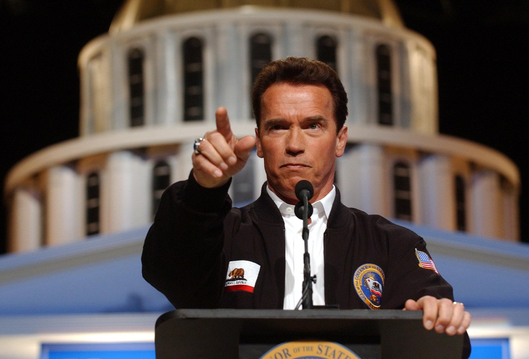 Arnold Švarceneger - guverner Kalifornije