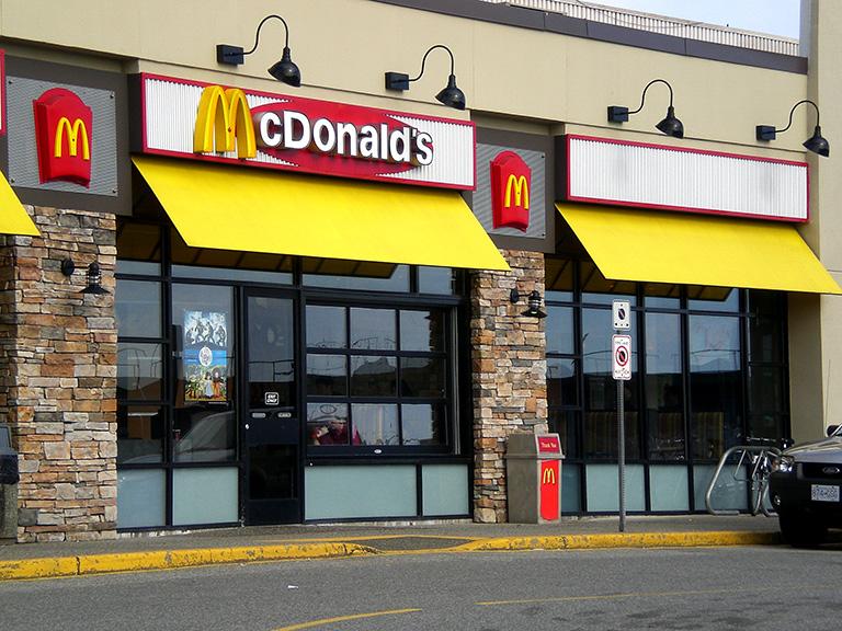 Mekdonalds restoran brze hrane