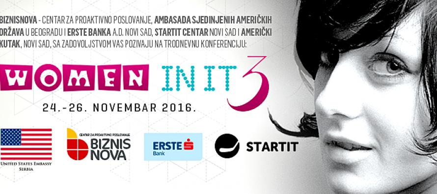 """Novi Sad: Konferencija """"Women in IT 3"""""""