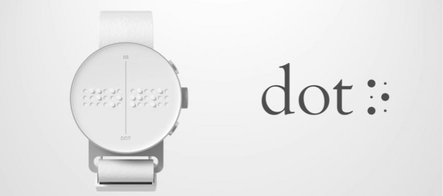 Nova tehnologija: Prvi pametni sat na Brajevoj azbuci