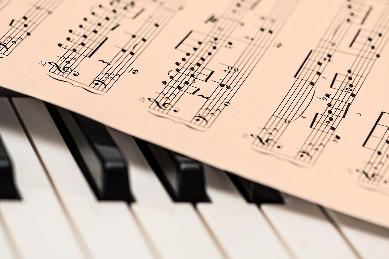 klavir note