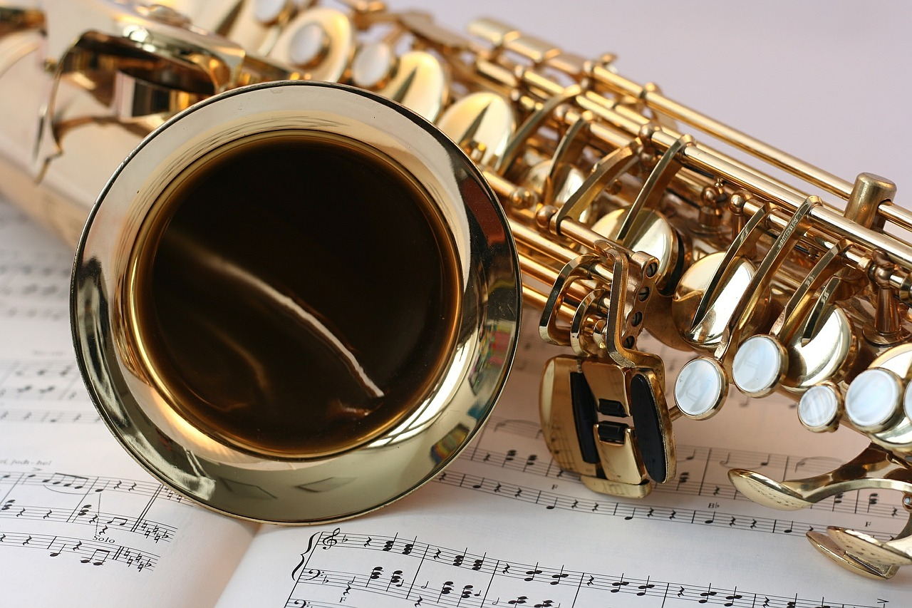 saksofon note