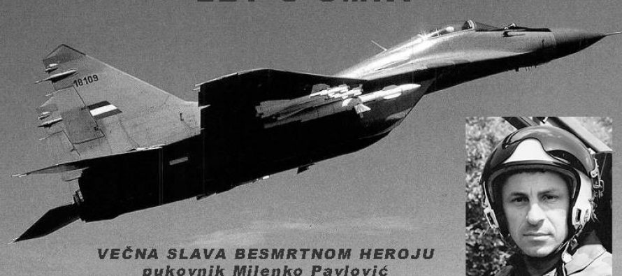 Pukovnik Milenko Pavlović: Sećanje na herojski čin hrabrog pilota