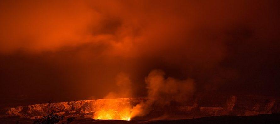 Ovako  je izgledala najveća erupcija podvodnog vulkana!
