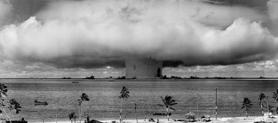 Kako nastaje nuklearna pečurka