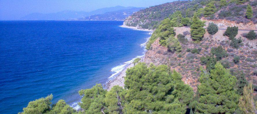 Grčke obale nekad su bile dom zmija, guštera i varana
