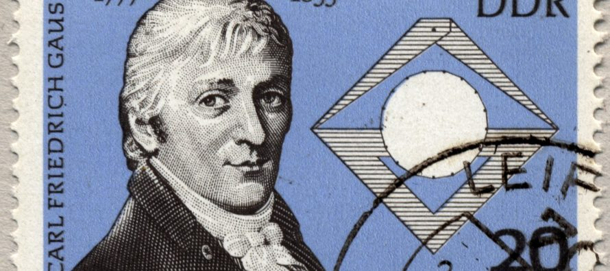 Nemački matematičar Karl Fridrih Gaust