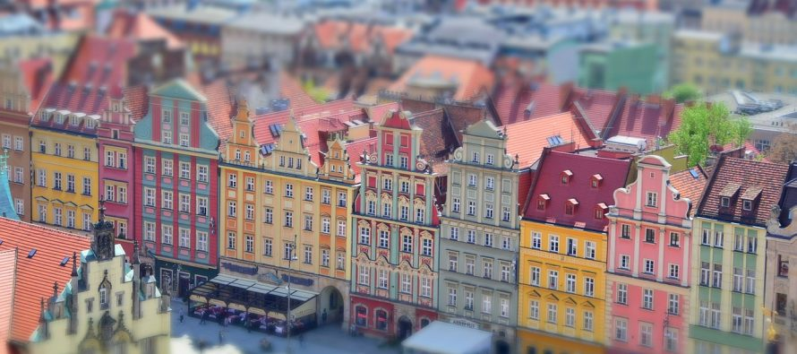 Kriva kuća u Poljskoj