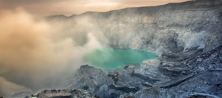 Kako je erupcija vulkana dovela do nastanka ostrva?