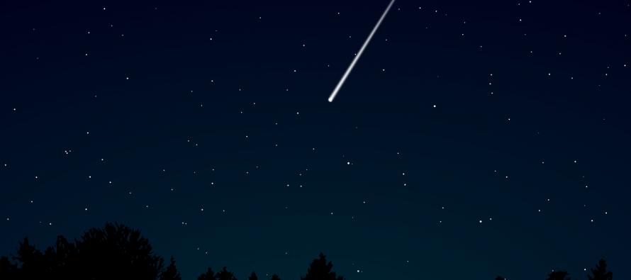 Kako nastaju zvezde padalice?