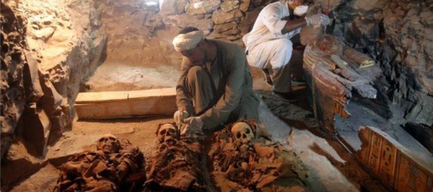 Otkrivena grobnica sa radionicom za mumificiranje!