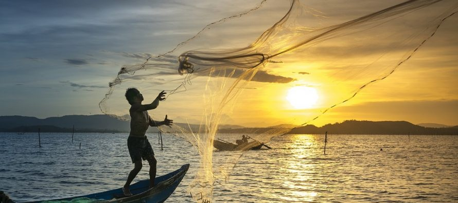 Kada je počeo ribolov mrežom?