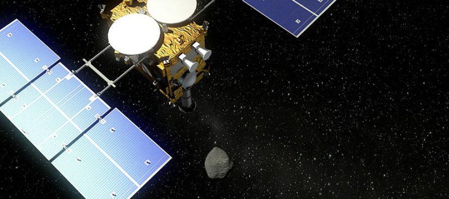 Japanska svemirska letelica poslala prve fotografije sa asteroida