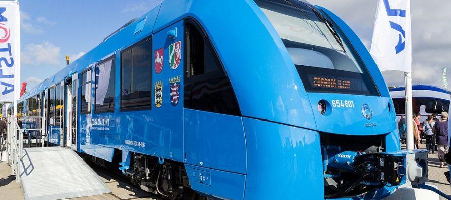 Prvi voz na vodonik predstavljen u Nemačkoj!