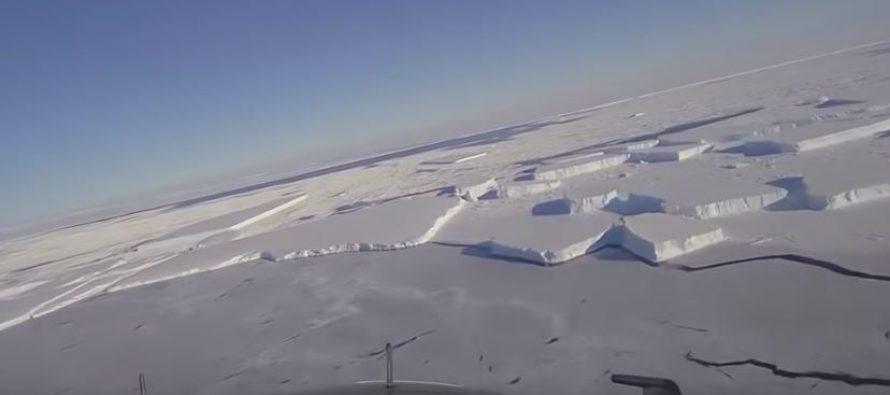 Otkrivena ogromna ploča leda savršenog geometrijskog oblika